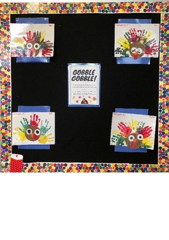 Thanksgiving Hand Activity and Poem for class
