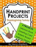 Thanksgiving Handprint Poems {Make 4 cute projects}