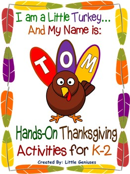 Thanksgiving Hands-On Activities for K-2