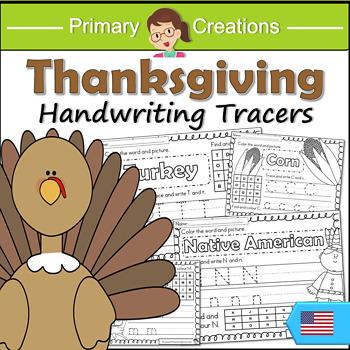 Thanksgiving PreK Literacy Activities
