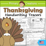 Thanksgiving PreK Literacy Activities