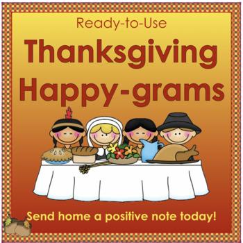 Thanksgiving Happy-grams!