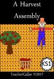 Thanksgiving/Harvest Assembly Script
