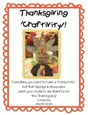 Thanksgiving Hat ~Thankful Hat Craftivity~ Great Center, P