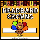 Thanksgiving Headband Crowns - Turkey Headband Crowns
