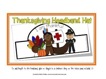 Thanksgiving Headband Hats
