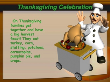 Thanksgiving History Power Point