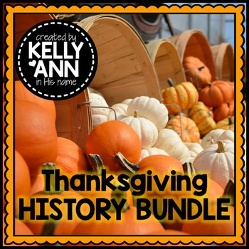Thanksgiving History Activities