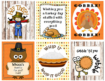 Thanksgiving Holiday Cards - Pack 2