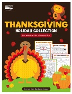Thanksgiving Holiday Collection, Grade 1
