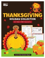Thanksgiving Holiday Collection, Grade 5
