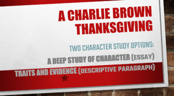 A Charlie Brown Thanksgiving: A Thanksgiving Analysis