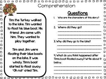 Thanksgiving Holiday Packet