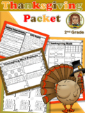 Thanksgiving Holiday Packet 2nd Grade