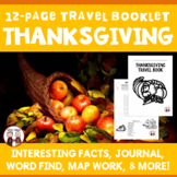 Thanksgiving Holiday Travel Booklet
