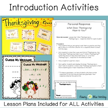 Thanksgiving : Holidays Made Easy (Grades 1 and 2) Reading, Writing, Math, Craft