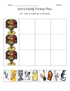 Thanksgiving Homework/Skill Sheets Bundle