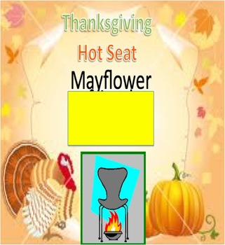 Thanksgiving Hot Seat Powerpoint game