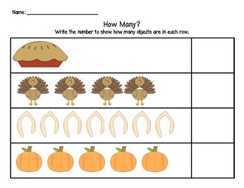 Thanksgiving: How Many?
