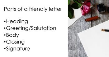 Thanksgiving-How to Write a Friendly Thank You Letter -FREE Editable PowerPoint