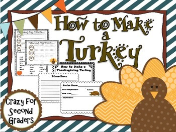 "Thanksgiving ""How to...""  Writing Project"