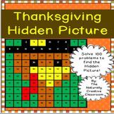 Thanksgiving Hundred Chart Hidden Picture