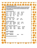 Thanksgiving Hundreds Chart Mystery Calculator Activity