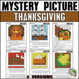 Thanksgiving Hundreds Chart Mystery Picture