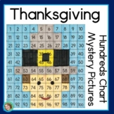 Thanksgiving Math 100s Chart Mystery Pictures