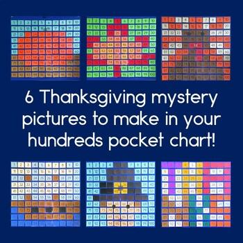 Thanksgiving Hundreds Pocket Charts