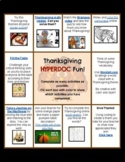Thanksgiving HyperDoc Fun