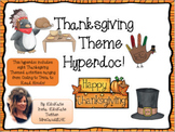Thanksgiving Hyperdoc!