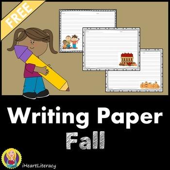 Writing Paper Fall