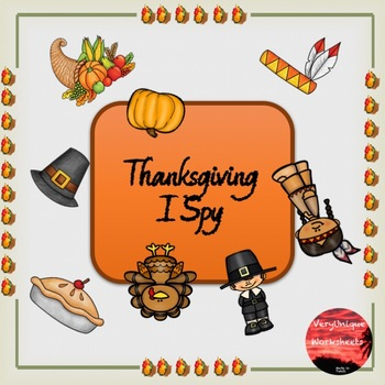 Thanksgiving I Spy