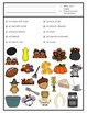 Thanksgiving Game: Find It adapted with 3 levels