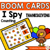 Thanksgiving I Spy Counting Activity Digital Game Boom Cards