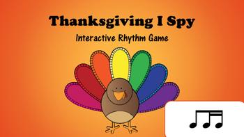 Thanksgiving I Spy Interactive Rhythm Game: Ti Tika