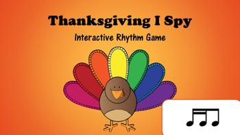 Thanksgiving I Spy Interactive Rhythm Game: Tika Ti