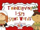 Thanksgiving I-Spy Sight Words