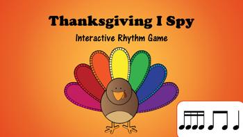 Thanksgiving I Spy Interactive Rhythm Game: Tika Tika