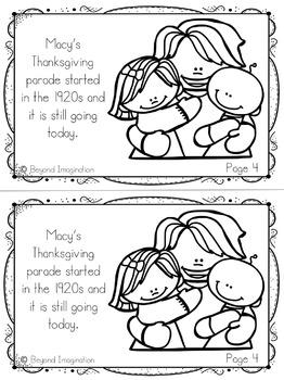 Thanksgiving Activities 2018
