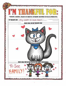 Thanksgiving-I'm Thankful For