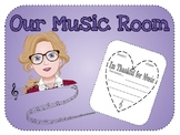 (Grades 1-4) I'm Thankful for Music Because...