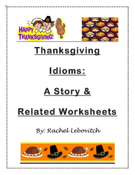 Thanksgiving Idioms story