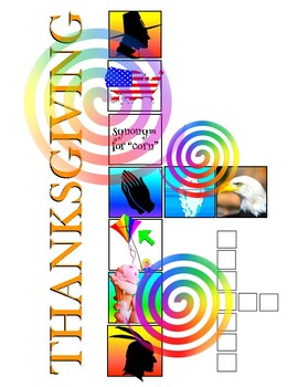 Thanksgiving Imagic (A visual crossword puzzle)