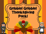 Thanksgiving In Spanish! Math And Literacy Centers!