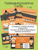 Thanksgiving Incentive Cards