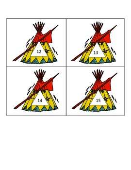 Thanksgiving Indian Homes - Tepee Fact Families