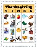 Thanksgiving Inference Bingo