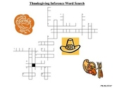 Thanksgiving Inference Crossword Puzzle